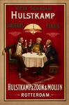 II-0000-0171 Hulstkamp & Zoon & Molijn, Rotterdam. Vieux Schiedam Hulstkamp. Liqueurs Fines.
