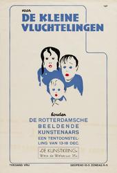 II-0000-0198 De Kunstkring. Voor de kleine Vluchtelingen houden de Rotterdamsche beeldende kunstenaars een ...