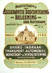 II-0000-0205 Reclame voor de Maatschappij van Assurantie, Discontering en Beleening der Stad Rotterdam.