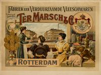 II-0000-0213 Ter Marsch & Co., Rotterdam. Fabriek van Verduurzaamde Vleeschwaren.