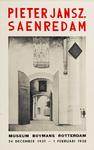 II-0000-0221 Museum Boymans. Pieter Jansz. Saenredam. 24 December 1937 - 1 Februari 1938.