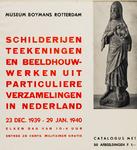 II-0000-0228 Museum Boymans. Schilderijen, teekeningen en beeldhouwwerken uit particuliere verzamelingen in Nederland. ...