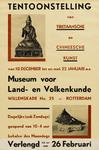 II-0000-0231 Museum voor Land- en Volkenkunde. Tibetaansche en Chineesche Kunst. 18 december - 22 januari. Verlengd tot ...