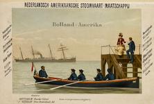 II-0000-0236 Nederlandsch-Amerikaansche Stoomvaart-Maatschappij. Wekelijksche Maildienst tusschen Rotterdam/Amsterdam ...