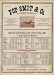 II-0000-0335 Fop Smit & Co. Rotterdam Telephoon. No. 608. Dienstregeling 1894. Stoombooten op billijke voorwaarden te huur.