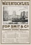 II-0000-0345 Fop Smit & Co. Rotterdam. Dienstregeling 1 Mei-1 November 1909. Watertochtjes in verbinding met de ...