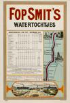II-0000-0354 Fop Smit & Co. Rotterdam. Dienstregeling 1 mei-1 november 1915. Watertochtjes.
