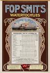 II-0000-0355 Fop Smit & Co. Rotterdam. Dienstregeling 1 mei-1 november 1916. Watertochtjes.