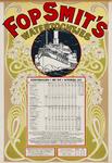 II-0000-0356 Fop Smit & Co. Rotterdam. Dienstregeling 1 mei-1 november 1917. Watertochtjes.