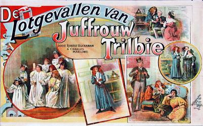 II-0000-0369 De lotgevallen van Juffrouw Trilbie door Robert Buchanan en Charles Marlowe. Gevolgd door Kiespijn van ...