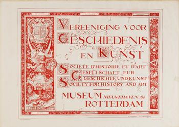 II-0000-0393 Vereeniging voor Geschiedenis en Kunst. Societe d'Histoire et d'Art. Gesellschaft für Geschichte und ...