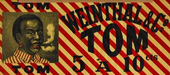 II-0000-0415 Weinthal & Co. (Rotterdam). Tom (sigaren) 5 à 10 cts.