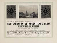 II-0000-0430 Uitg. W. Zwagers te Rotterdam m.m.v. het Gemeentebestuur. Ter perse om binnenkort te verschijnen het lang ...