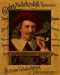 II-0000-0438 Gebr. 's Zwartendijk Rotterdam. Stoom Tabaksfabriek, Theehandel. Tabak. Snuif. Sigaren. Sigaretten. Thee.
