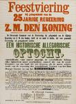 II-0000-0474 Feestviering bij gelegenheid van de 25-jarige regeering Z.M. den Koning...bekomen.