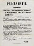 II-0000-0482 Proclamatie...Amsterdam, 12 mei 1874. Willem.