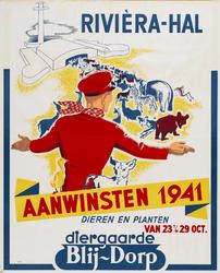 II-1941-0007 Diergaarde Blijdorp. Rivièra-Hal. Aanwinsten 1941. Dieren en planten. 23 t/m 29 October.