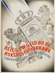 II-1942-0003 Beleg uw geld bij de Rijkspostspaarbank. Staatswaarborg - veilige belegging.