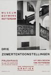 II-1942-0016 Museum Boymans. Drie zomertentoonstellingen. Prijsvraag Blaak en Hofplein: met Historische afdeeling. Uit ...