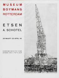 II-1942-0017 Museum Boymans. Etsen A. Schotel. 28 Maart-22 April 1942.