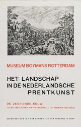 II-1943-0004 Museum Boymans. Het landschap in de Nederlandsche prentkunst. De zestiende eeuw. Lucas van Leijden, Pieter ...