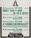 II-1943-0023 Diergaarde Blijdorp. Zaterdagmiddag 16 Januari: Ernst van t' Hoff met zijn 17 solisten (Maria Zamora, ...