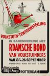 II-1943-0025 Diergaarde Blijdorp. Volkstuintentoonstelling in samenwerking met R'damsche Bond van Volkstuinders. 18 t/m ...