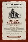 II-1946-0018 Het kan verkeeren...door Frans de Prex. Ten tooneele gebracht door Jan C. de Vos met het tooneelgezelschap ...