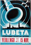 VIIIS-0000-0007 Lubeta Luchtbeschermingstentoonstelling Amsterdam. Tesselschade Ziekenhuis Leidse Bosje.