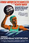 VIIIS-0000-0014 Wereld Waterpolotournooi om den Horthy-beker 1939 Zwembad Groenendaal Doetinchem.
