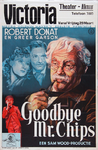 VIIIS-0000-0076 Goodbye Mr. Chips. Robert Donat en Greer Garson. Victoria Theater Alkmaar