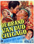 VIIIS-0000-0079 De brand van oud Chicago. Tyrone Power, Alice Faye, Don Ameche.