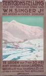 X-0000-0008 Tentoonstelling van het Noorsche werk van W.H. Singer Jr., den Amerikaanschen schilder te Leiden van 7 tot ...