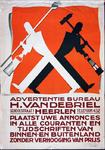 X-0000-0023 Advertentiebureau H. van den Briel, Heerlen. Plaatst Uwe annonces in alle couranten en tijdschriften van ...