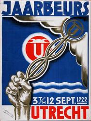 X-0000-0062 Jaarbeurs Utrecht, 3 t/m 12 September 1929.