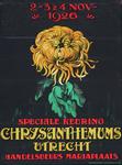 X-0000-0120 2-3 & 4 Nov. 1926. Speciale keuring Chrysanthemums Utrecht Handelsbeurs Mariaplaats.