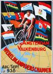 X-0000-0135 Amsterdam - Valkenburg. Wereldkampioenschappen Aug. - Septs. 1938. Nederlandse Wielrijders Unie.