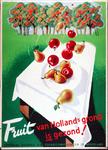 X-0000-0141 Fruit van Holland's grond is gezond! Centraal bureau v.d. Tuinbouwveilingen in Nederland.