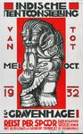 X-0000-0148 Indische Tentoonstelling, Van Mei tot October 1932, 's-Gravenhage. NV Drukkerij Joh. Mulder, Gouda. ...