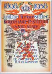 X-0000-0347 1898-1938. Jubileum tentoonstelling Koloniaal Instituut. 15 Aug. - 30 Sept. 40 Jaar ontwikkeling van ...