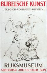 X-0000-0407 Bijbelsche kunst. Jer. Bosch, Rembrandt, Jan Steen. Rijksmuseum, Juli - October 1939.