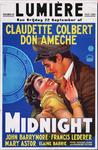 X-0000-0459 Lumière. Midnight. Claudette Colbert. Don Ameche, John Barrymore, Francis Lederer, Mary Aster, Elaine ...