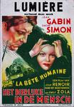 X-0000-0462 Lumière vertoont deze week Jean Gabin, Simone Simon. La Bête Humaine.