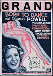 X-0000-0472 Grand. Born to Dance met Eleanor Powell etc. Jazz - Jeugd - Geest. James Stewart.