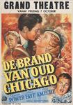 X-0000-0497 Grand Theatre. De brand van oud Chicago. Tyrene Power-Alice Faye - Don Ameche