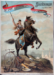 X-0000-0518 Int. Sport- Visscherij- en Paardententoonstelling, Juni-October 1892. Scheveningen.