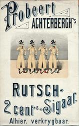 X-0000-0538 Probeert Achterbergh's Rutsch 2 cents-Sigaar.