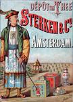 X-0000-0543 Dépôt van Thee. Sterken & Co. Amsterdam.