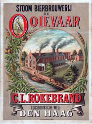 X-0000-0557 Stoom Bierbrouwerij De Ooievaar. C.L. Rokebrand, Loosduinsche weg, Den Haag.