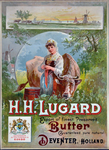 X-0000-0559 H.H. Lugard Export of finest preserved Butter. Guaranteed pure natural Deventer, Holland.